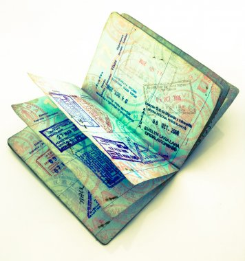 Old US passport