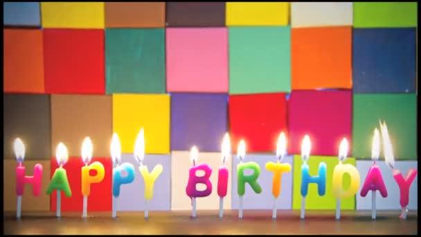 Boldog születésnapot gyertya