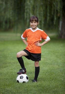 Little Soccer Girl