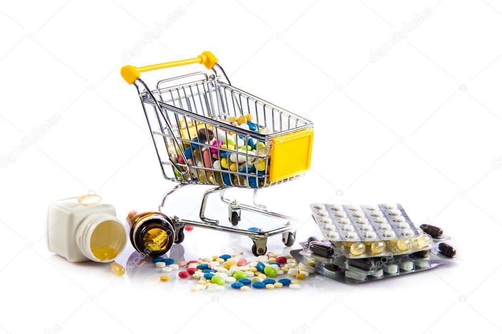 Resultado de imagem para carrinho cheio de medicamentos