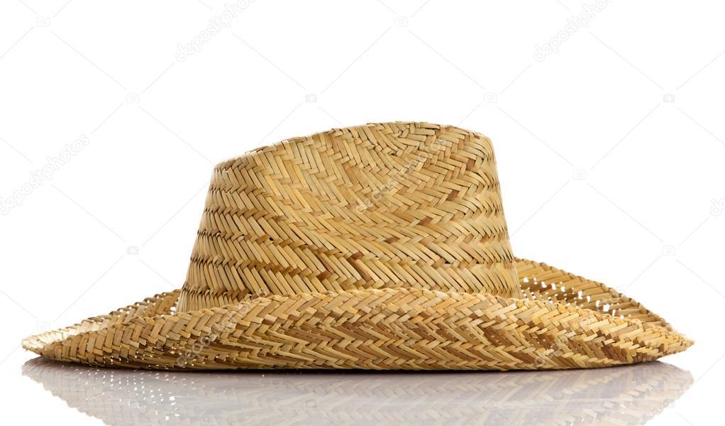 Sombrero izolovaných na bílém pozadí. slaměný klobouk — Fotografie od ... 49e4cceed0