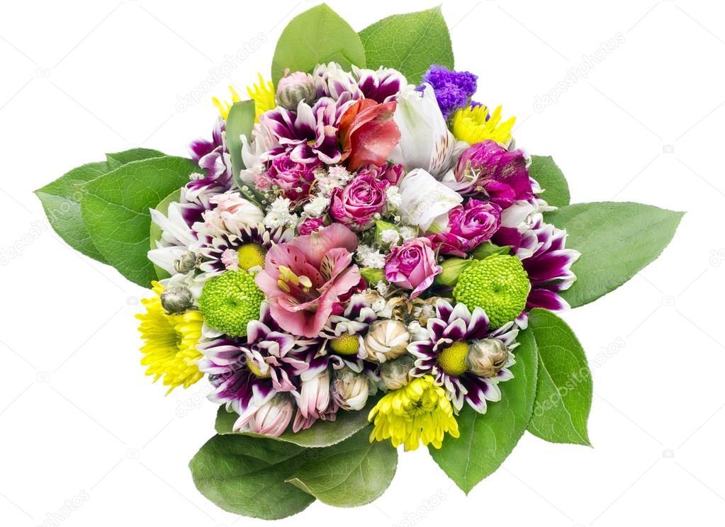 Favoloso bouquet di fiori per compleanno ragazza — Foto Stock © vilaxlt  JA46