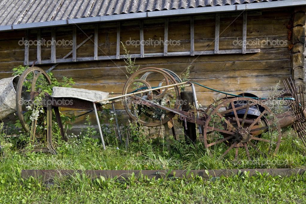 Retro farm tools