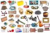 Fényképek egyszerű objektumok készlet