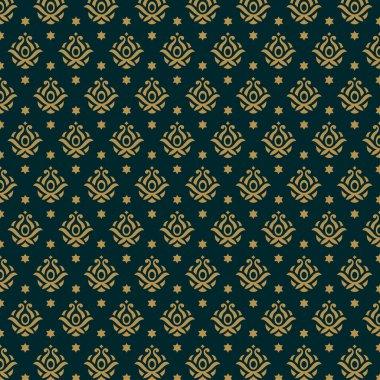 Fashion luxury pattern. Seamless texture. Vector background