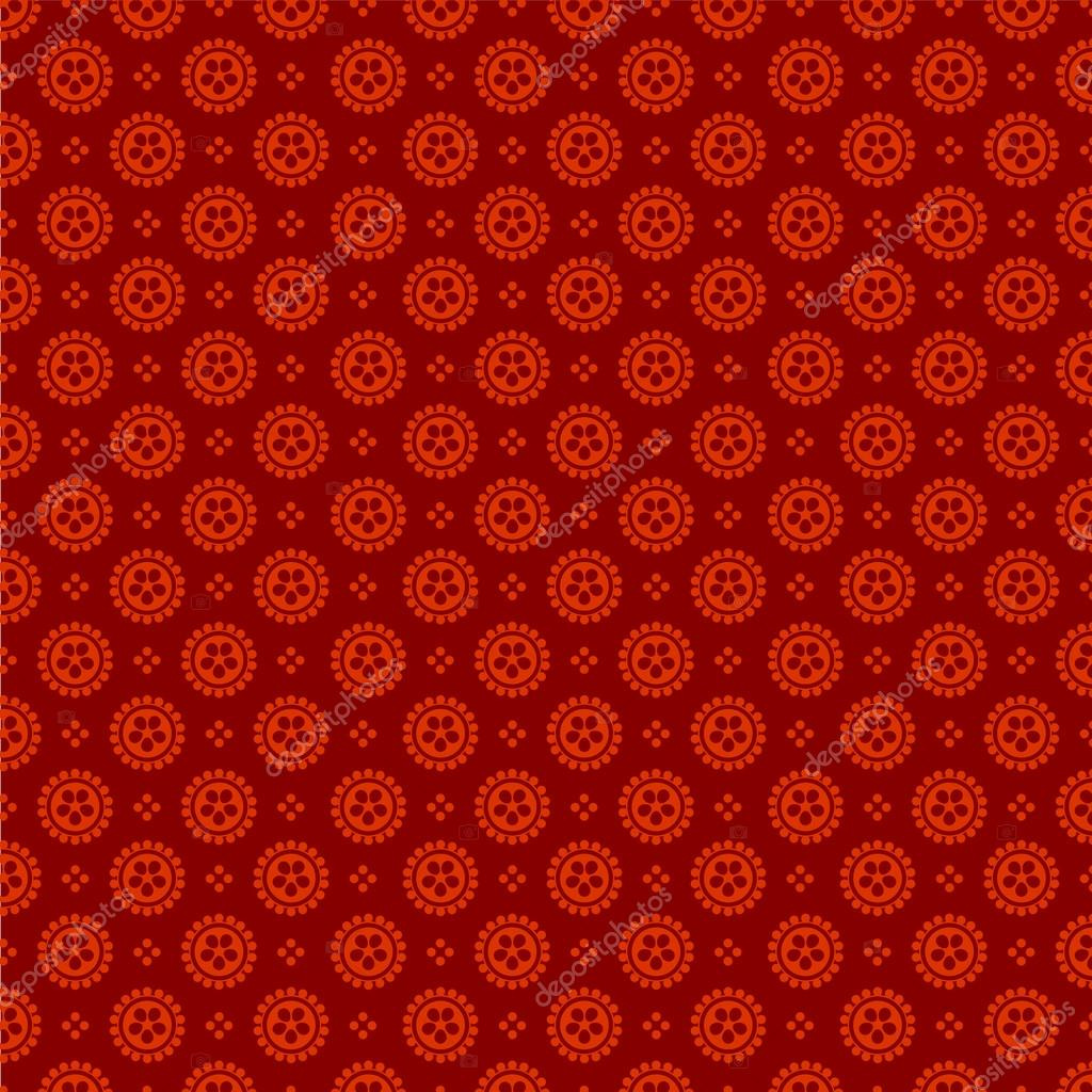 Vintage Background Abstract Retro Red Pattern Vector