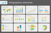 Fotografie Infographics elements with icons.Multiuse! For business and finance reports, statistics, diagram graph