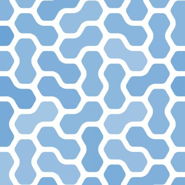 Abstract Technology blue background. Electronic theme texture. Molecular pattern easy can be done seamless. Vector.