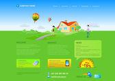 webová šablona: healthlife, krajinu, nemovitosti atd resizeble webdesign - mohou být přijata pro jakékoliv rozlišení monitoru