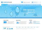 Fotografie kapky vody na světě mapa obchodní pozadí konceptu. webové stránky šablona pro nové podnikatelské nápady, ekologie, inovace upravitelné