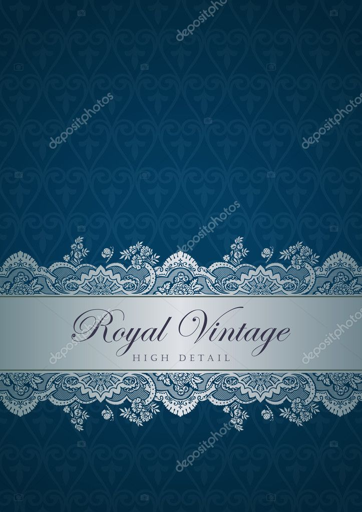Vintage border design. Flourish ornament. Floral pattern.