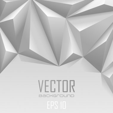 Background abstract triangle polygon trendy style with copyspace