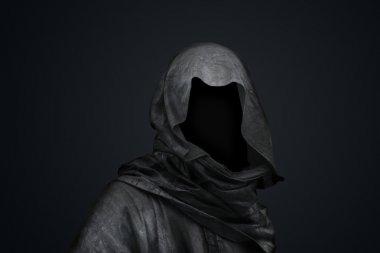 """Картина, постер, плакат, фотообои """"смерть в капюшоне"""", артикул 31420279"""