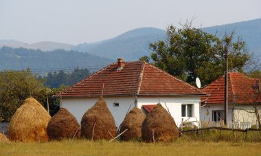House in rural homestead