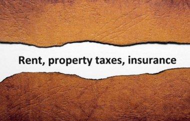 Rent property tax insurance