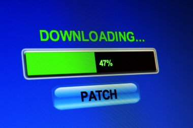 Downloading patch