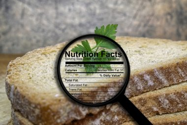 Bread and nutrition facts