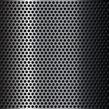 Chrome metal grid