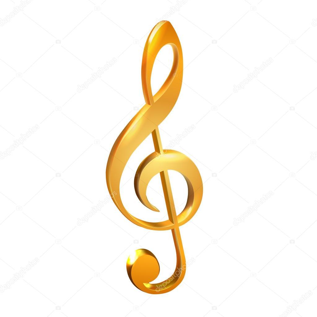 Скрипичный ключ скачать в векторе