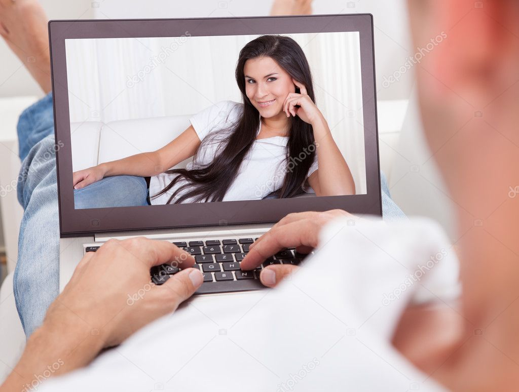 video chat woman