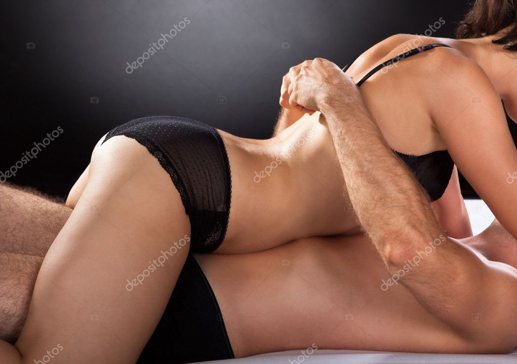 Close-up of couple having sex