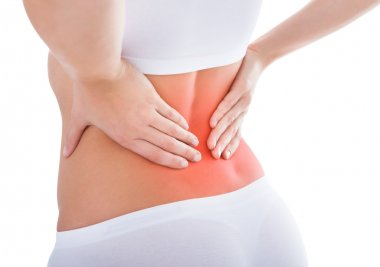 Woman Suffering From Back Pain