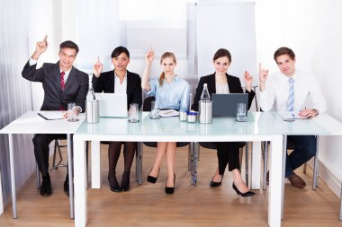 Businesspeople In Conference