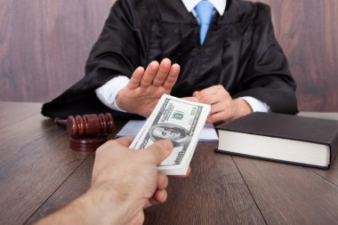 Judge Taking Bribe From Client