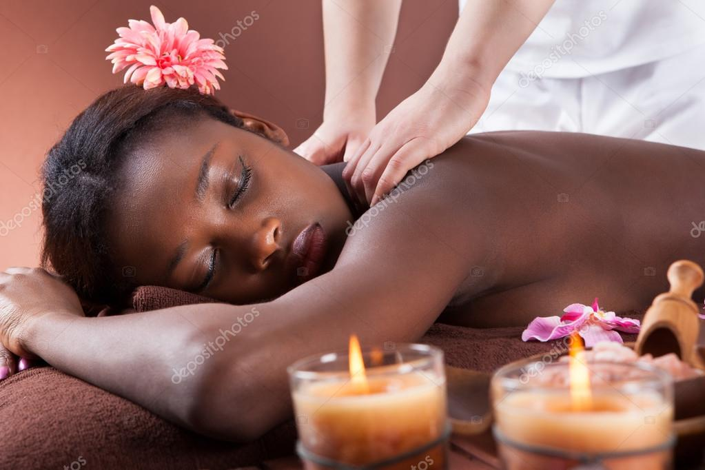 Black Massage Stock Photos And Images
