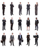 collage di diversi imprenditori