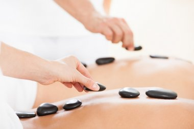 Therapists Giving Lastone Therapy To Couple