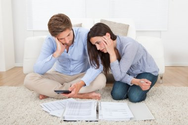Couple In Financial Trouble
