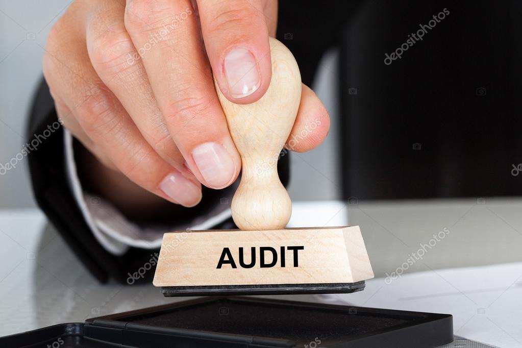 Audit Sign Rubber Stamp