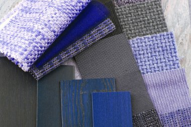 upholstery tapestry and blinds color selection