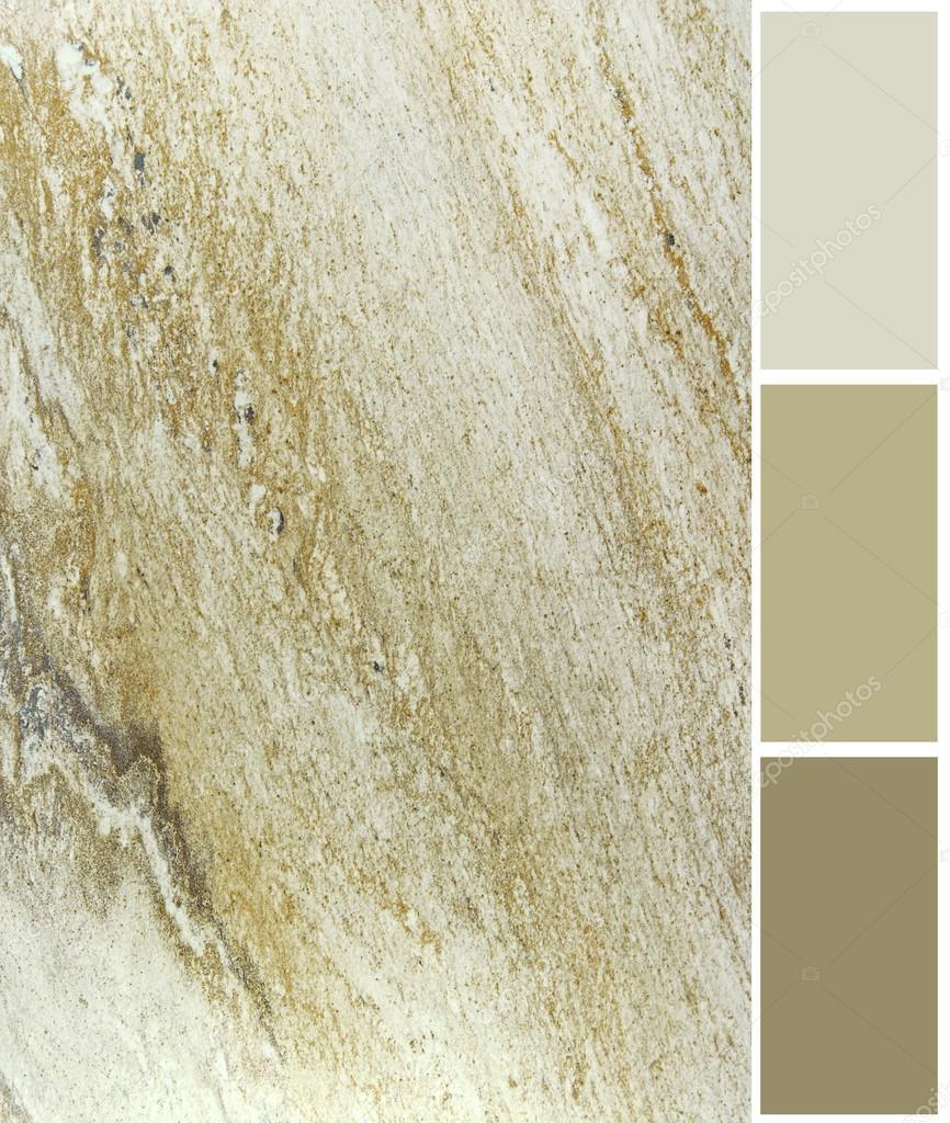 Muestras De La Paleta De Color Marmol Con Cortesia Fotos De Stock - Color-marmol
