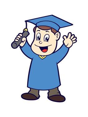 Cartoon graduation