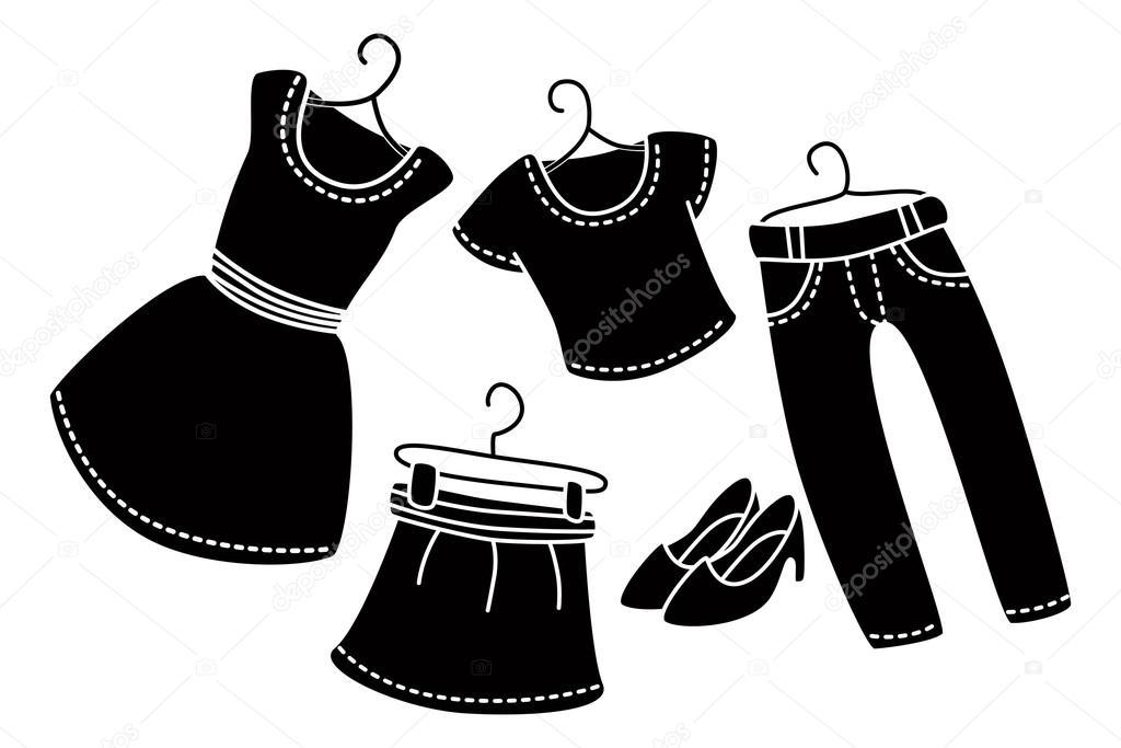 Bildresultat för tecknade kläder