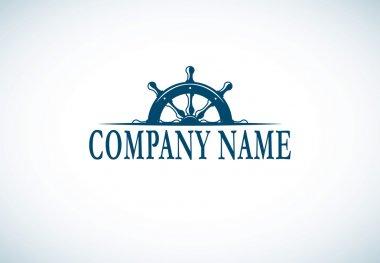 Anchor company logo template