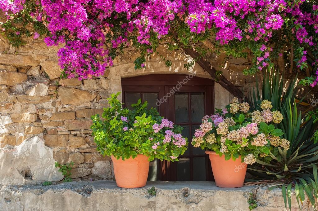Italian house exterior