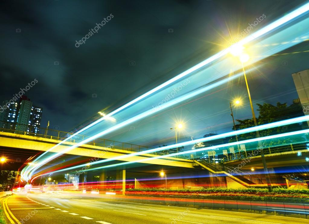 Фотообои Traffic light on highway