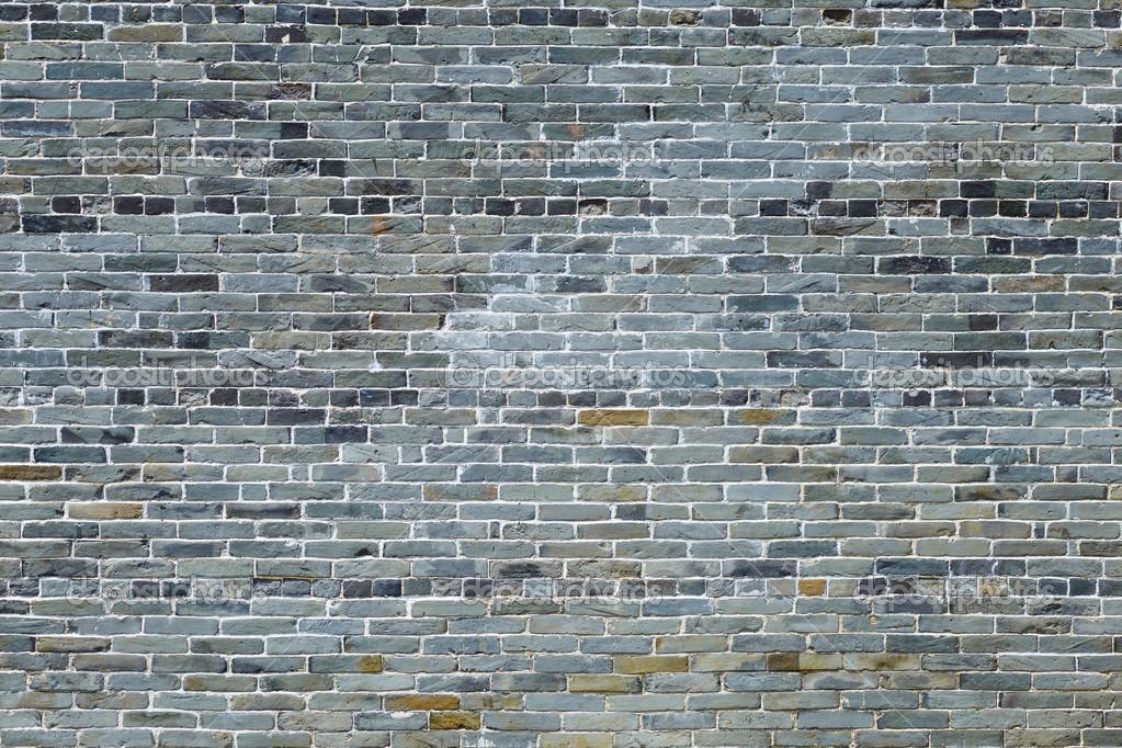 Oude grijze bakstenen muur stockfoto leungchopan 31869163 for Grijze muur