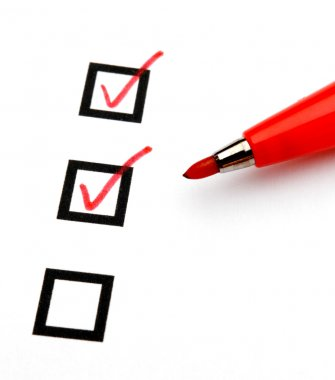 Checkbox with tick
