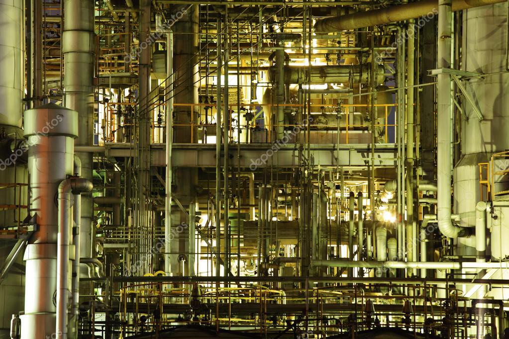 Industrial complex stock vector