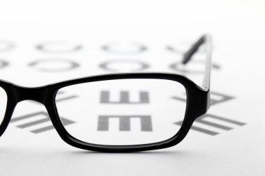 Eyewear and eyechart