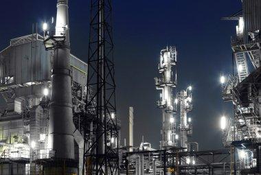 Industrial building stock vector