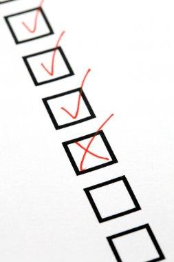 Checkbox list
