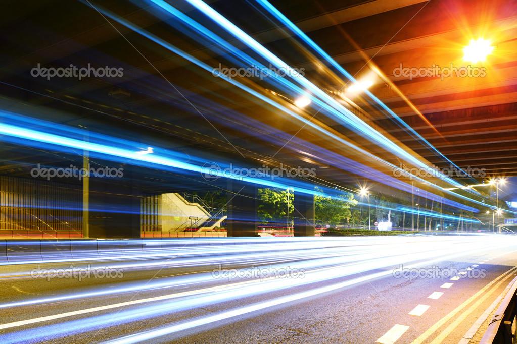 Фотообои Fast speed pass though tunnel