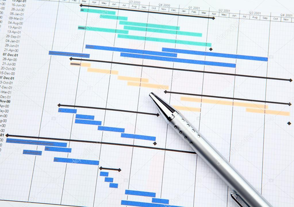 Project management with gantt chart stock photo leungchopan project management with gantt chart stock photo ccuart Images