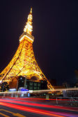 město Tokio v noci