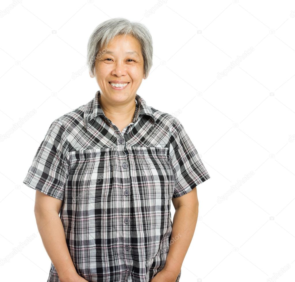 asian mature woman — stock photo © leungchopan #46856331